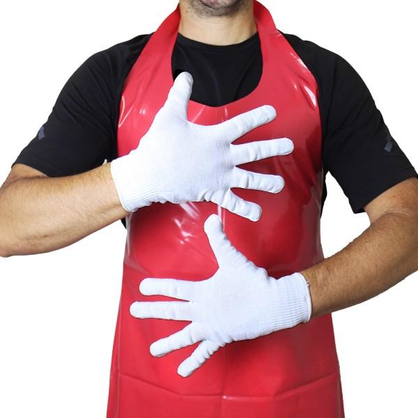 guantes industrials blancos