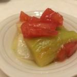 ねぎのトマトマリネ