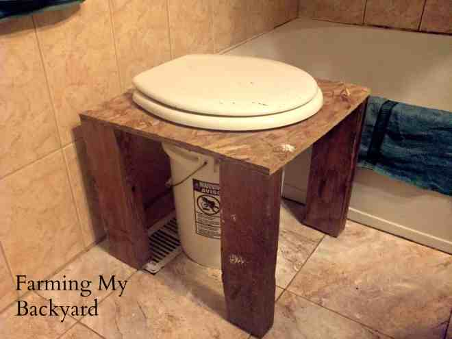 diy composting toilet outhouse