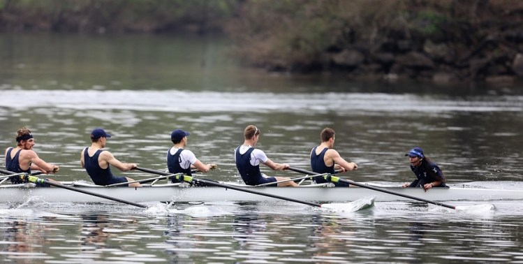 Laurie Yousman - coxswain for the Yale men's lightweight crew team