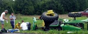 injured farmer