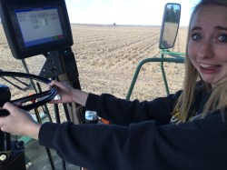Who left Hannah alone in the combine??