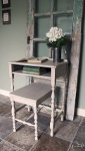 Shabby Farmhouse Chic Writing Desk