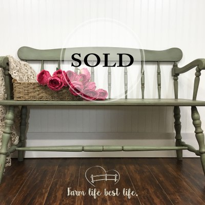 Down Home Farmhouse Bench