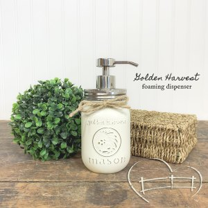 Mason Jar Soap Dispensers