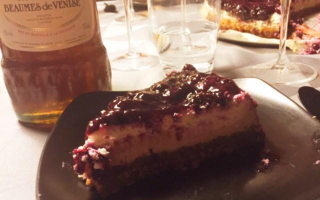 Chocolate Espresso Manhattan Cheesecake