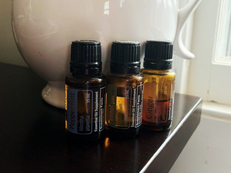 Three best essential oils for upset stomachs