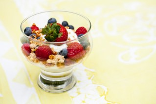 Granola with Greek Yogurt