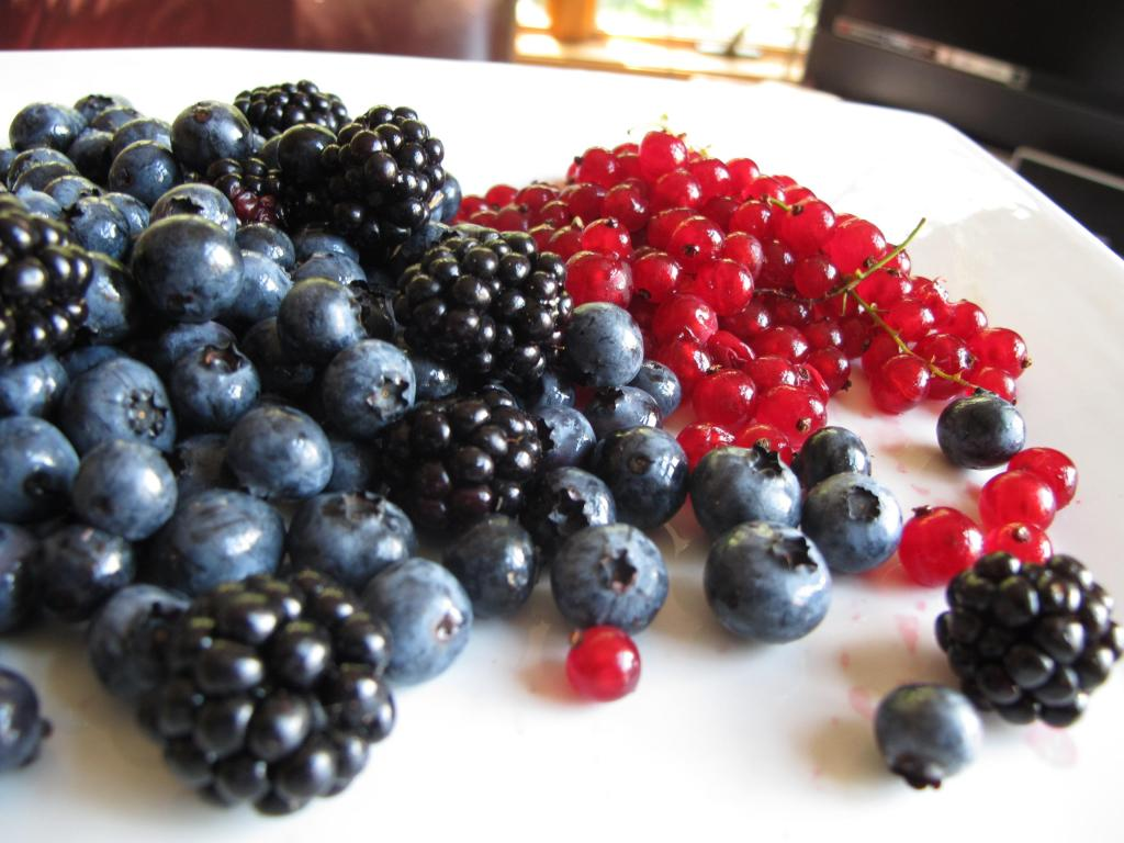 Berries used in English Summer Pudding