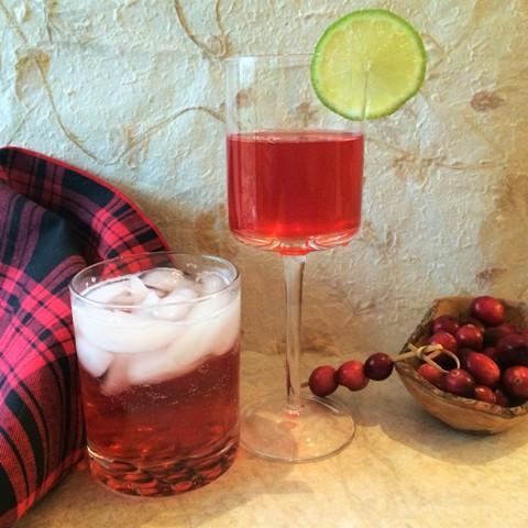 cranberry shrub beverages