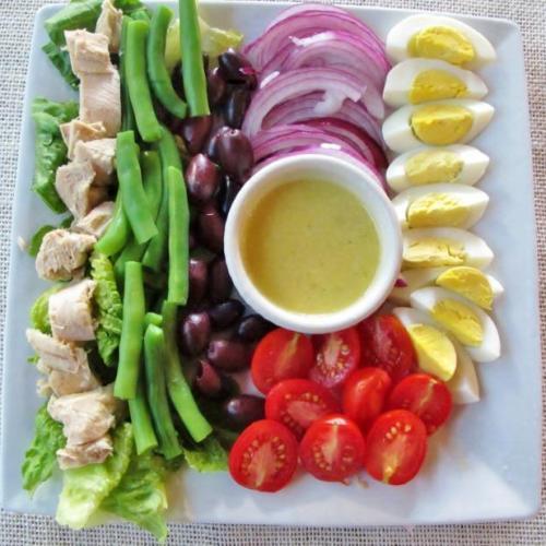 Nicoise Salad Prep