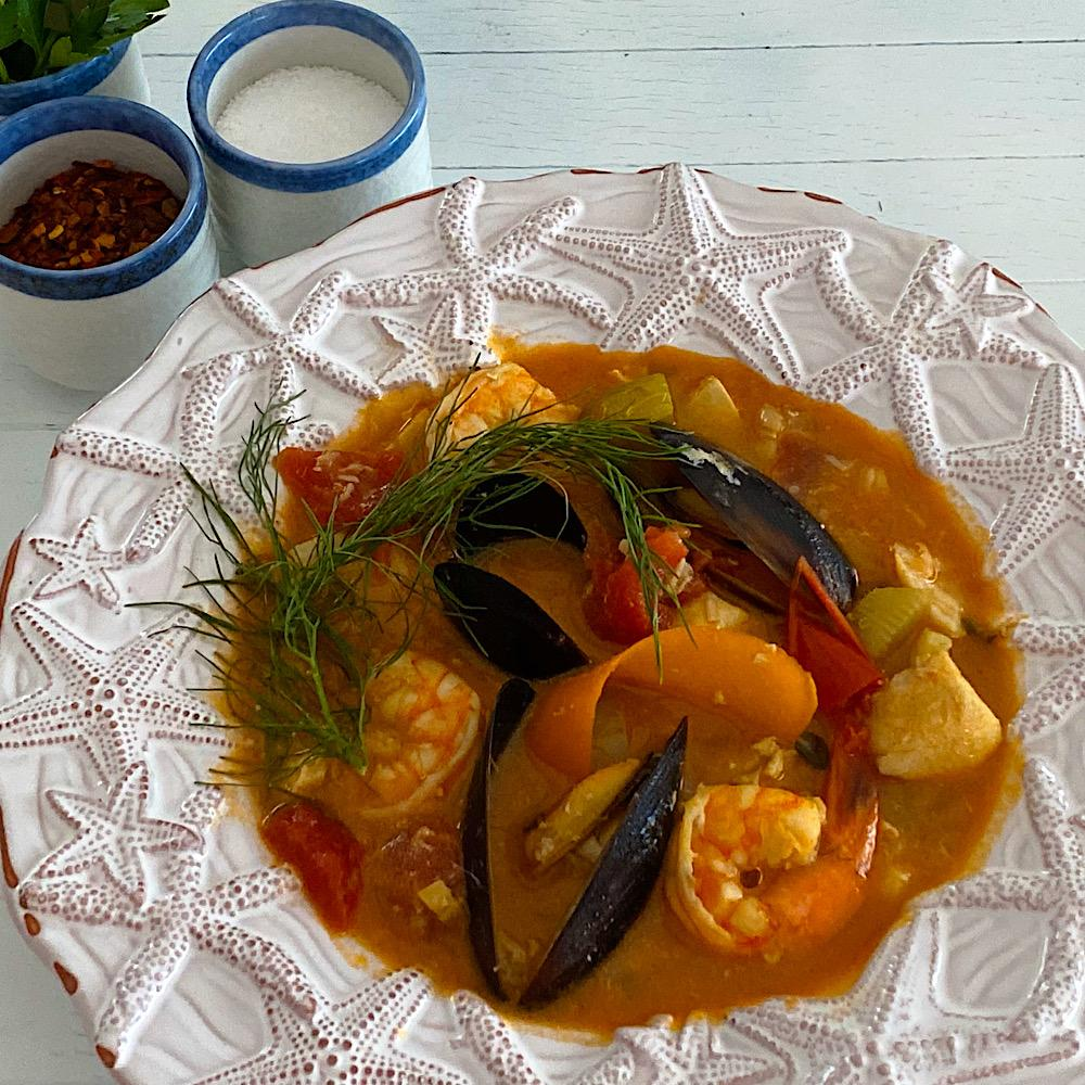 Low Carb French Bouillabaisse