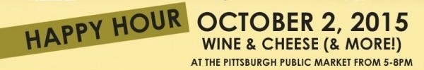 October 2: Wine & Cheese (& more!) Happy Hour