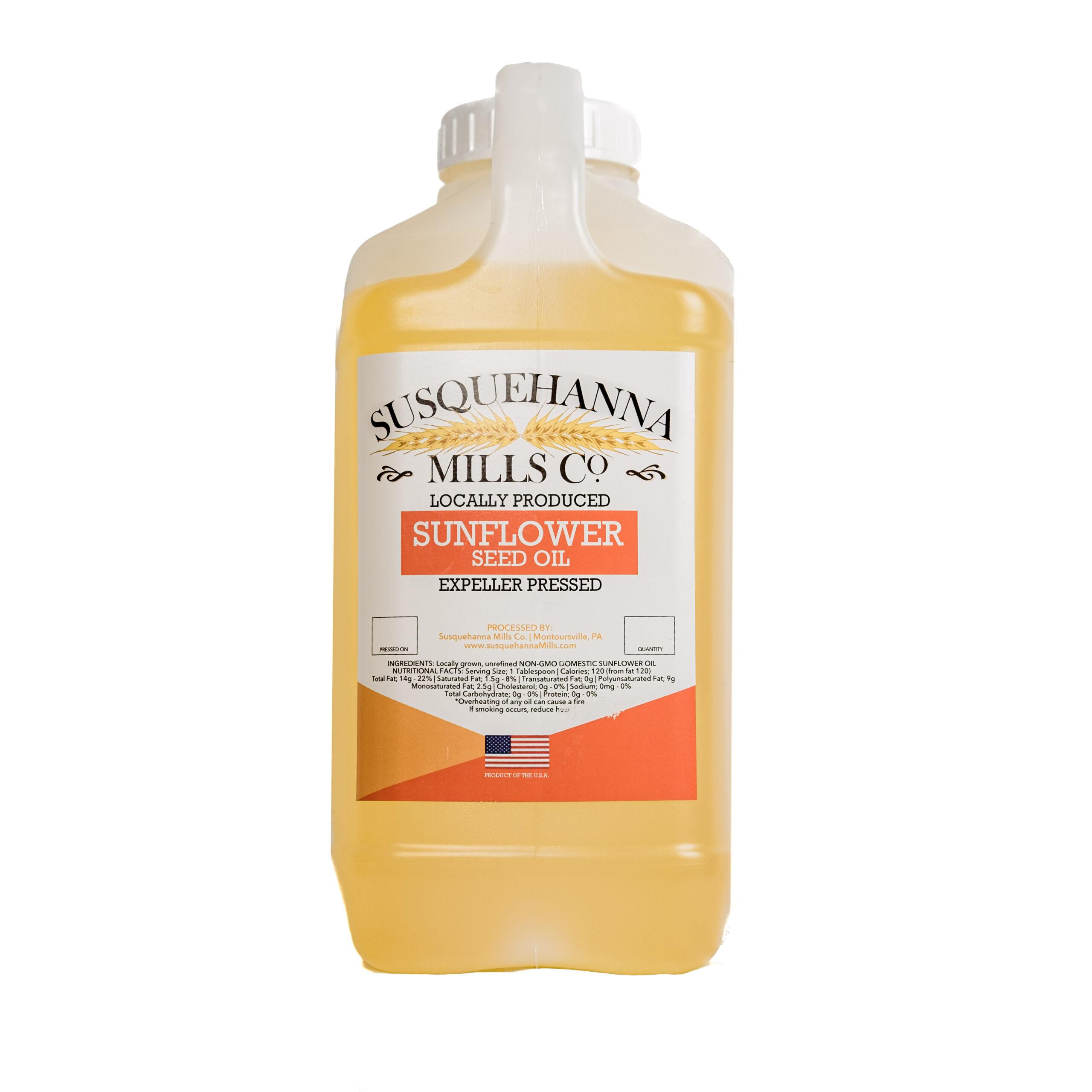 non-GMO Sunflower Oil Gallon