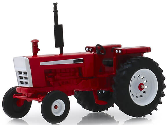 1973 Tractor (Red/White)