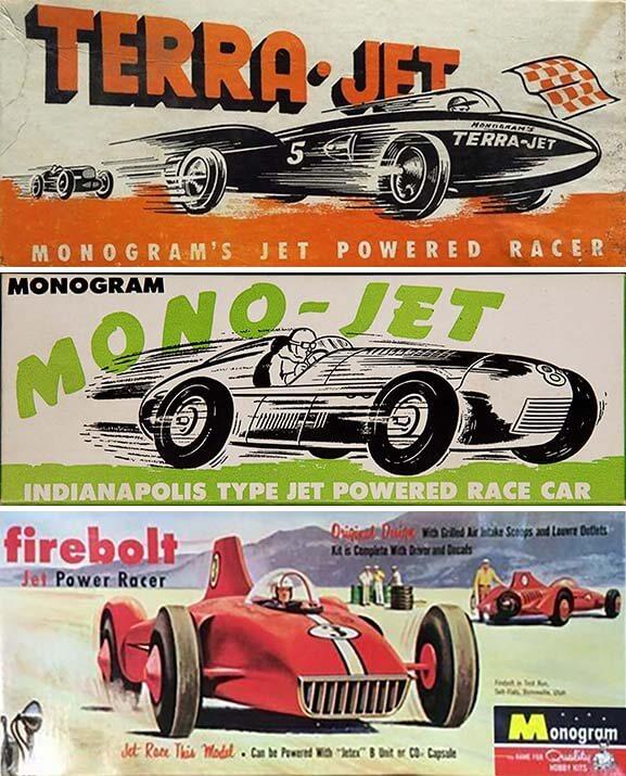 Monogram Jet Powered Racer
