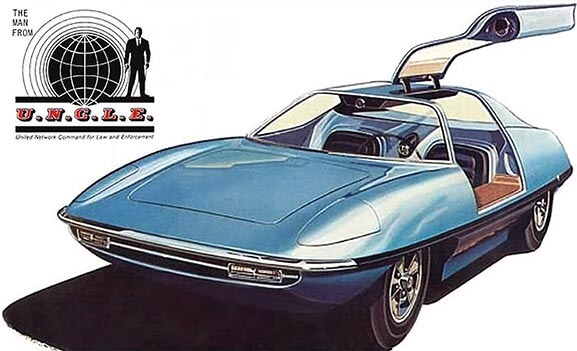 """The Piranha Spy Car from the TV Show """"The Man from U.N.C.L.E."""""""