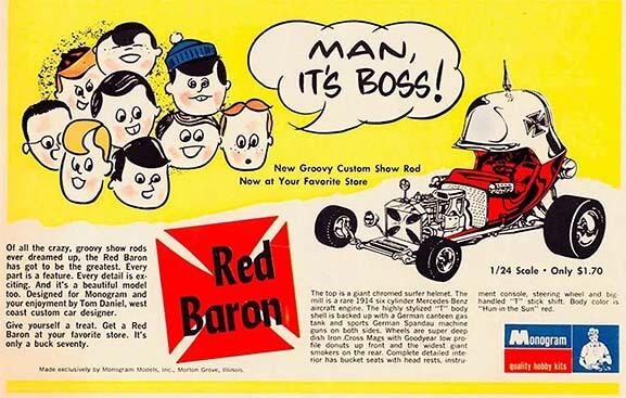 "Monogram ""Red Baron"" Advertisement"