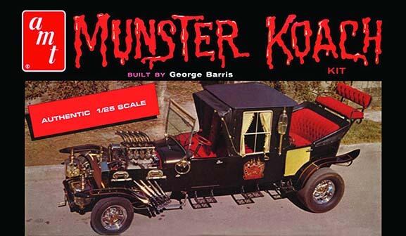 AMT Munster Koach Model Kit