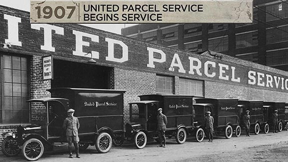 Ford Model T UPS Package Cars