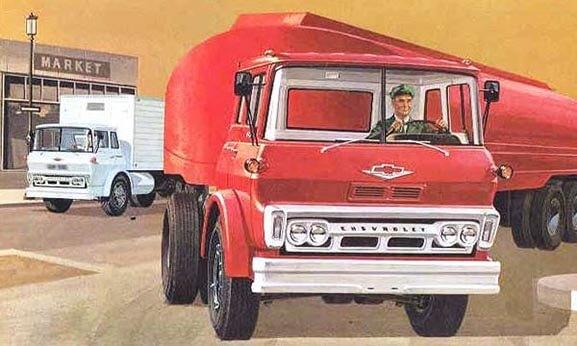 Chevrolet Brochure Image of the Steel Tilt Cab