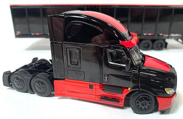 2019 Freightliner Cascadia w/Wabash 53' Duraplate Dry Van Trailer (Black/Red)