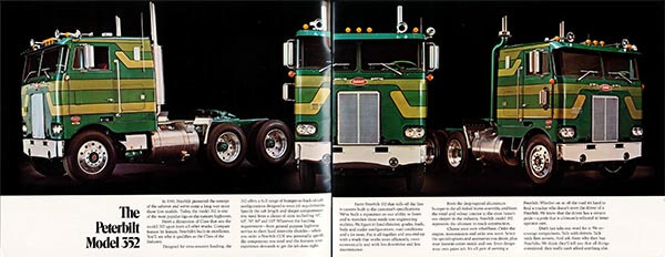 The Peterbilt Model 352 Cabover Brochure