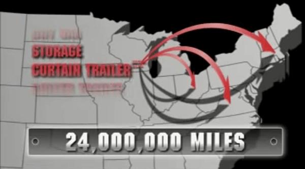 24 Million miles annually