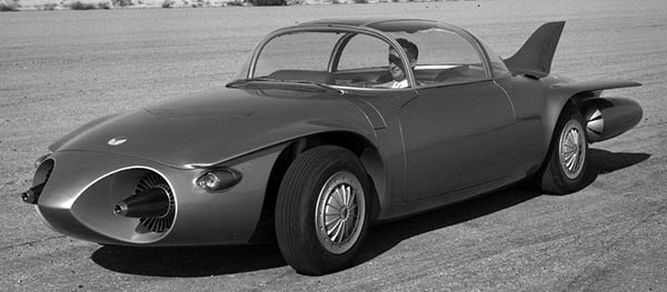 "1956 XP-43 ""GM Firebird II Turbine Concept Car"""