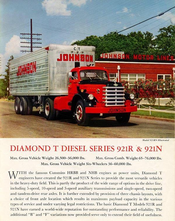 Diamond T Diesel Brochure