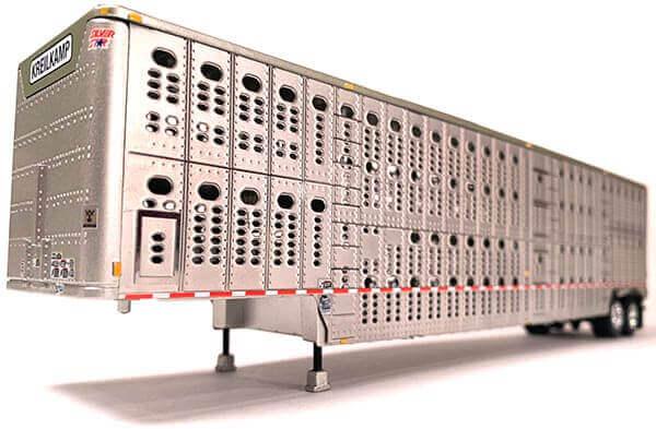 """Wilson Silver Star Livestock Trailer """"Kreilkamp Trucking"""""""
