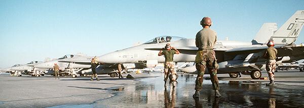 VMF-333 F-18A Hornet Desert Shield 1992
