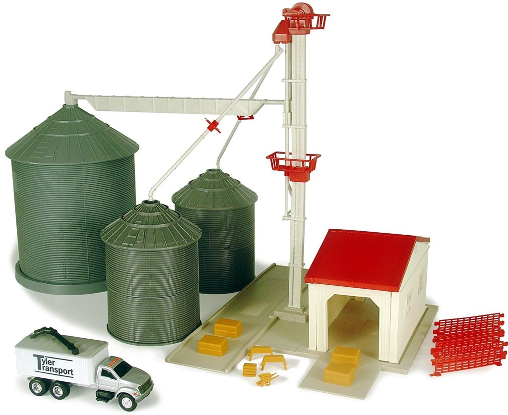 ertl farm country feed set