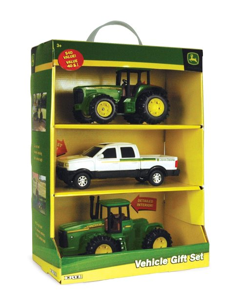 ertl john deere vehicle set