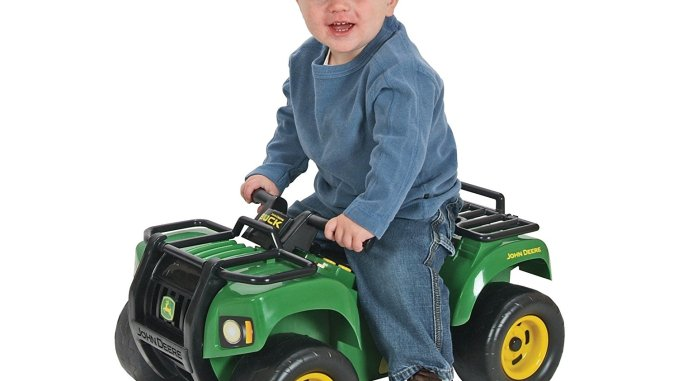 John Deere Sit and Scoot