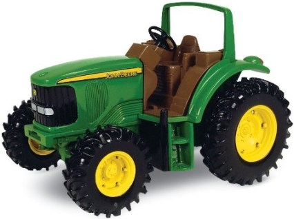John deere tough toy tractor