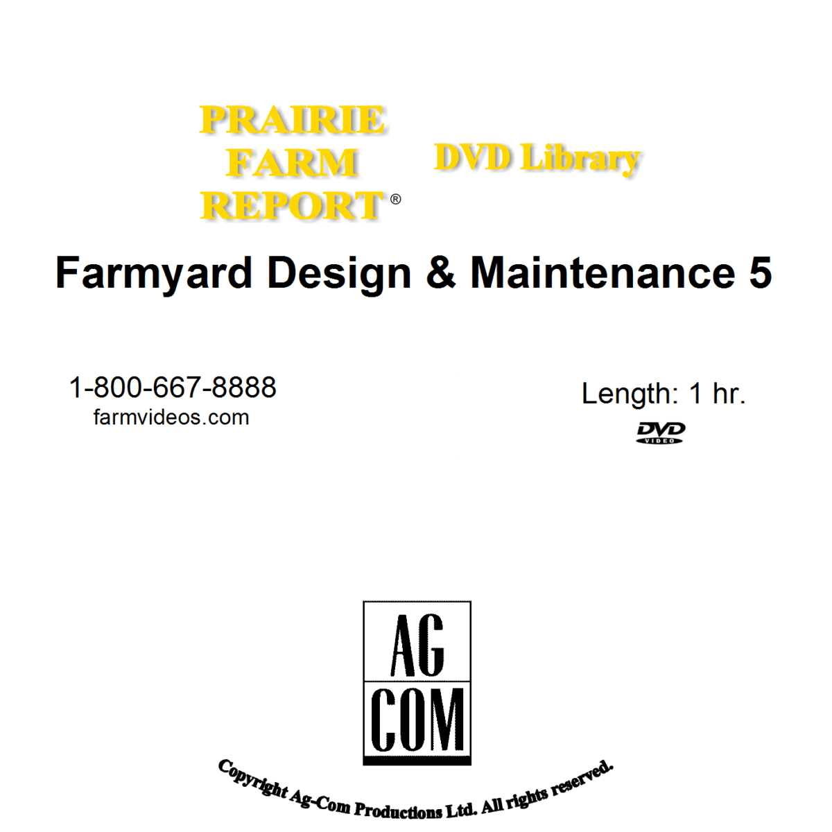 Farm Yard Design Amp Maintenance 5