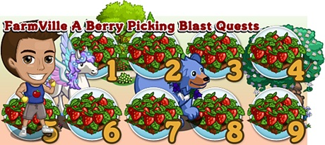 FarmVille A Berry Picking Blast Quests