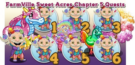FarmVille Sweet Acres Chapter 5 Quests
