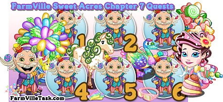 Farmville Sweet Acres Chapter 7 Quest