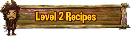 Tinkers Cabin Level 2 Recipes
