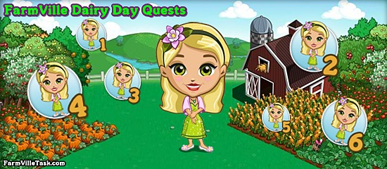 Farmville Dairy Day Quests