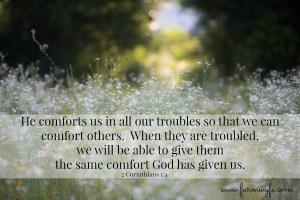 2 Corinthians 1 4