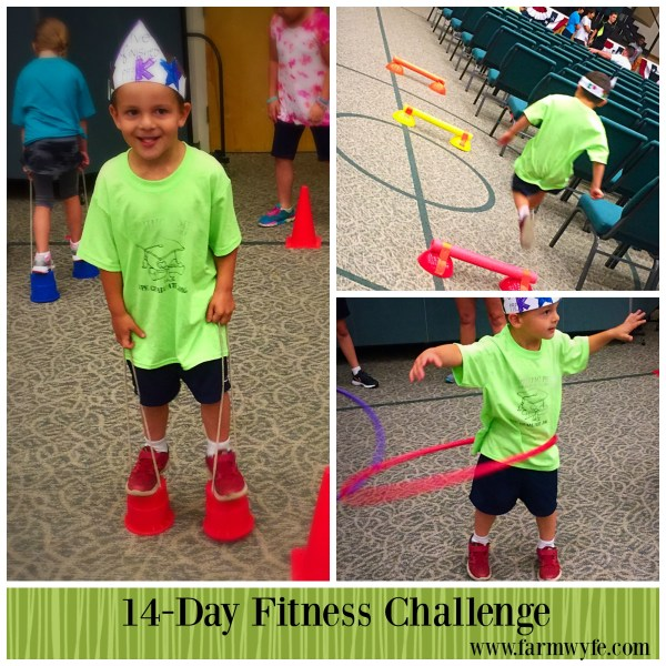 Day 1 Fitness Challenge