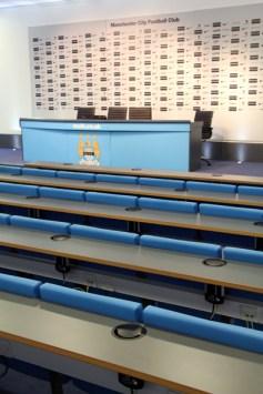 Manchester City sadium tour