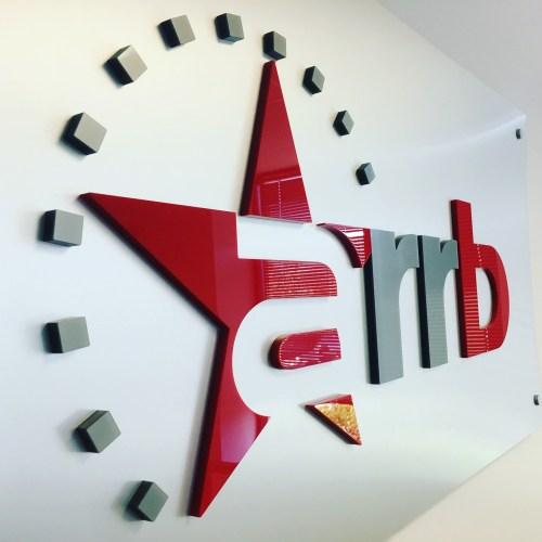 ARRB Interior Dimensional Letters/ Logo