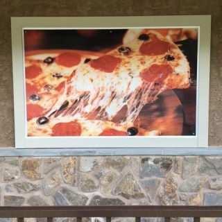 Aj Christophers Outdoor Digitally Printed Pizza Poster
