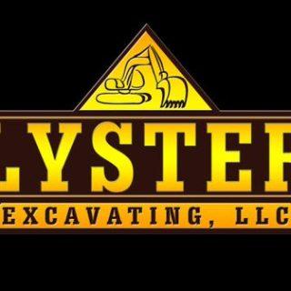 Lyster Excavating custom logo
