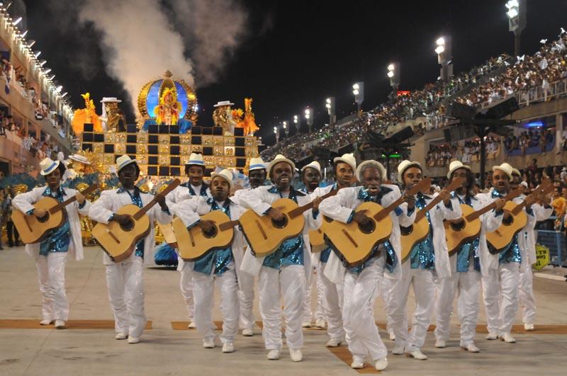 Comissão de Frente da Vila Isabel, campeã do carnaval do Rio 2013 - Fotos: Liesa