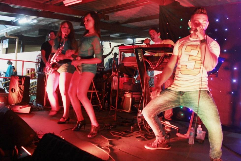 Banda Boys do Forró, uma das atrações da 42ª Festa do Milho